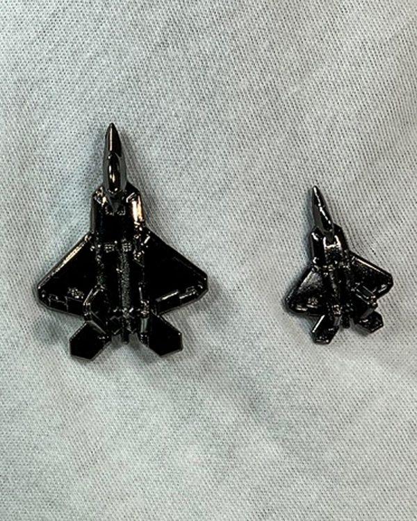 """Hill AFB F-22 """"Raptor"""" Pin"""