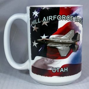 Hill Air Force Base F-35 Mug