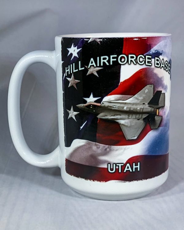 Hill Air Force Base F-35 Mug