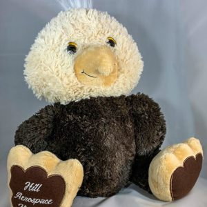 "Hill Aerospace Museum Plush 15 inch Eagle ""Striker"""