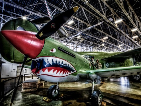 Curtiss P-40 Warhawk at Hill Aerospace Museum