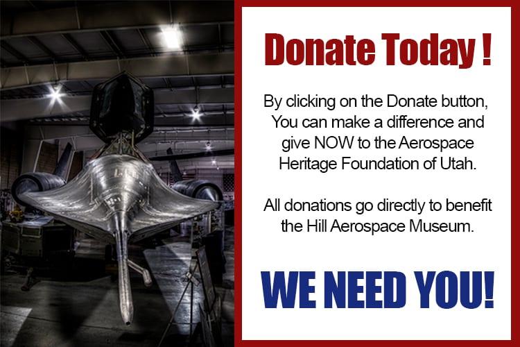 Donations - Aerospace Heritage Foundation of Utah