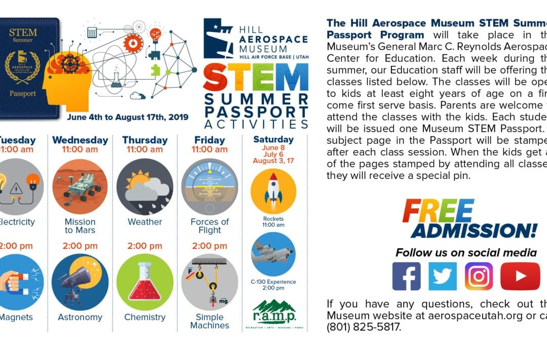 2nd Annual STEM Summer Passport Program!