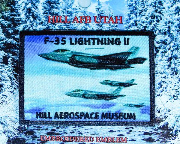 "Hill Aerospace Museum F-35 ""Lightning II"" Patch"