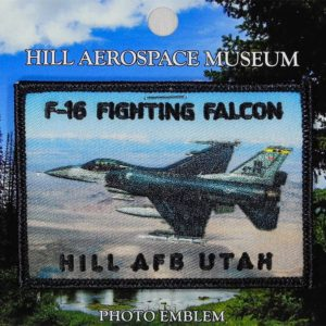 "Hill AFB F-16 ""Fighting Falcon"" Patch"