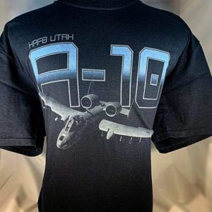 "Hill AFB A-10 ""Thunderbolt"" T-Shirt Adult and Youth Sizes"