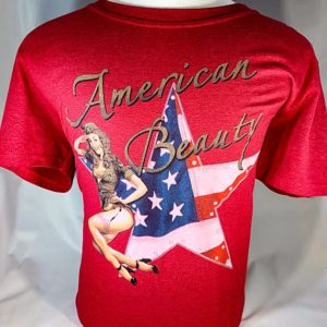"Pinup ""American Beauty"" T-Shirt"