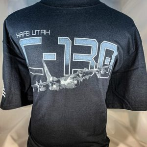 "Hill AFB C-130 ""Hercules"" T Shirts Adult and Youth Sizes"