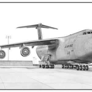 C-5 Galaxy Doug Kinsley Print
