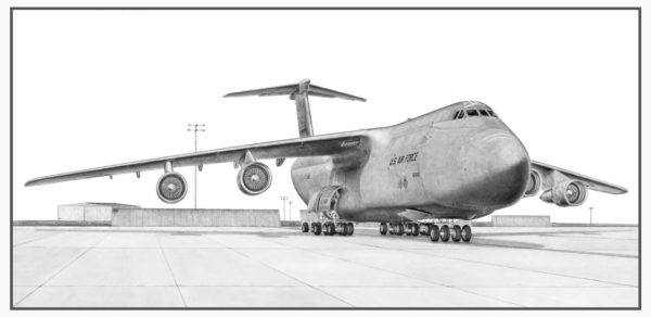 C-5 Galaxy Doug Kinsley Print