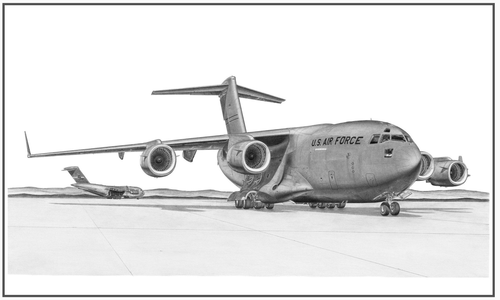 C-17 Globemaster III Doug Kinsley print 1