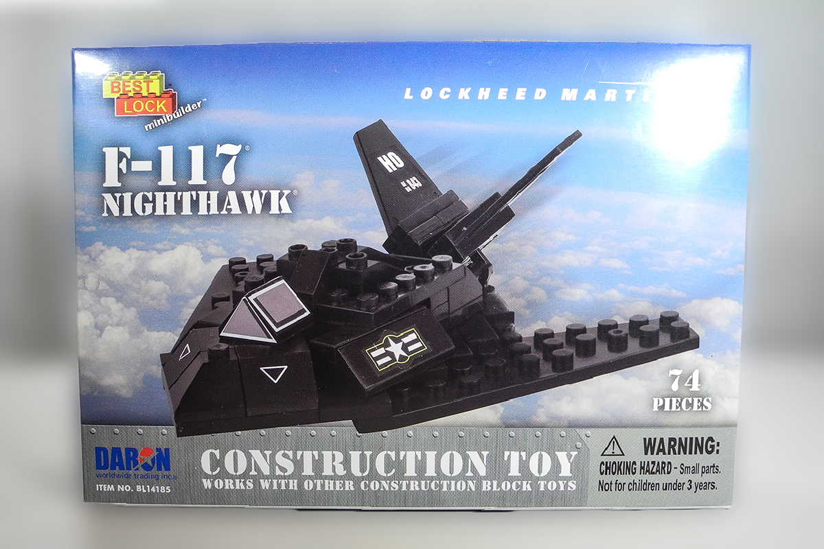 Construction Toy _ F-117