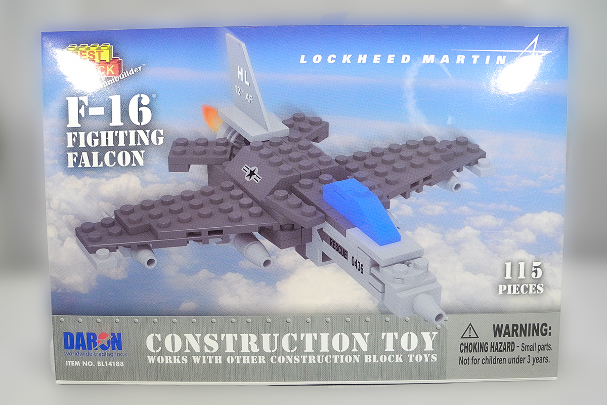 Construction Toy _ F-16