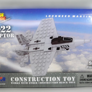 Construction Toy F-22