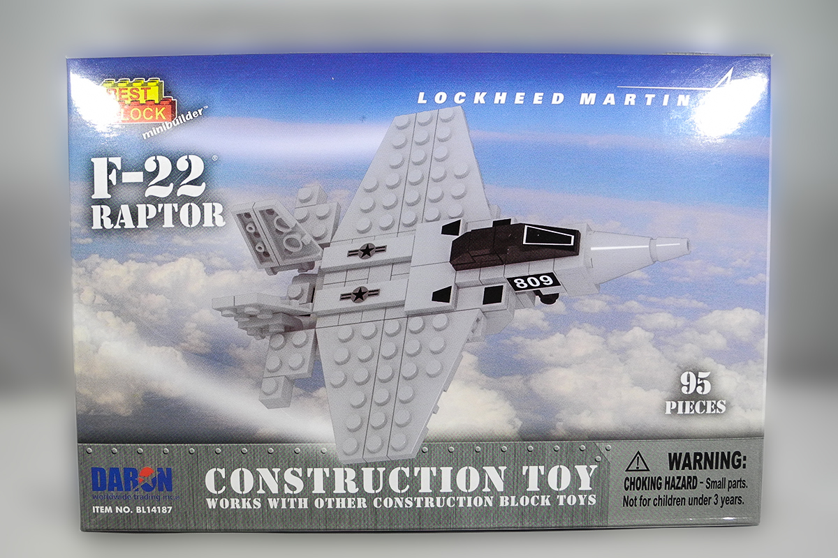 Construction Toy _ F-22