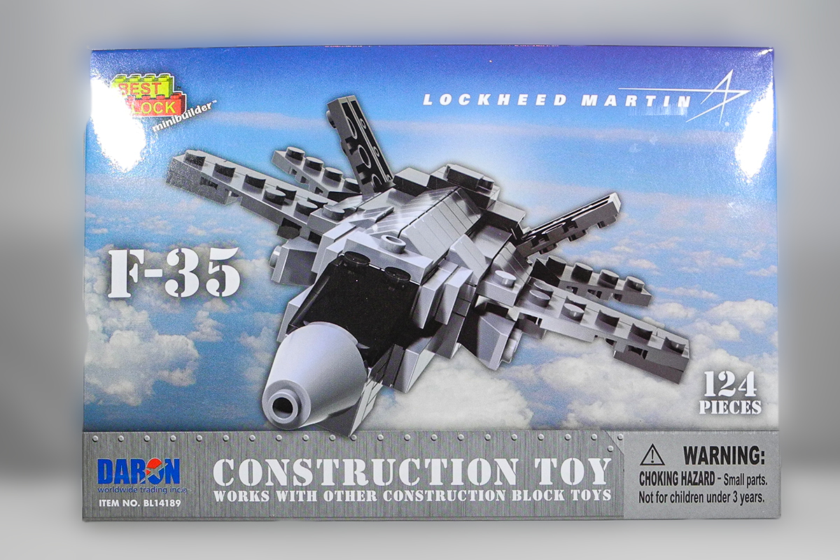 Construction Toy _ F-35