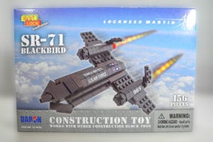 Construction Toy SR-71