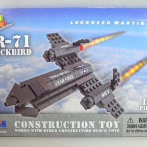 Construction Toy SR-71