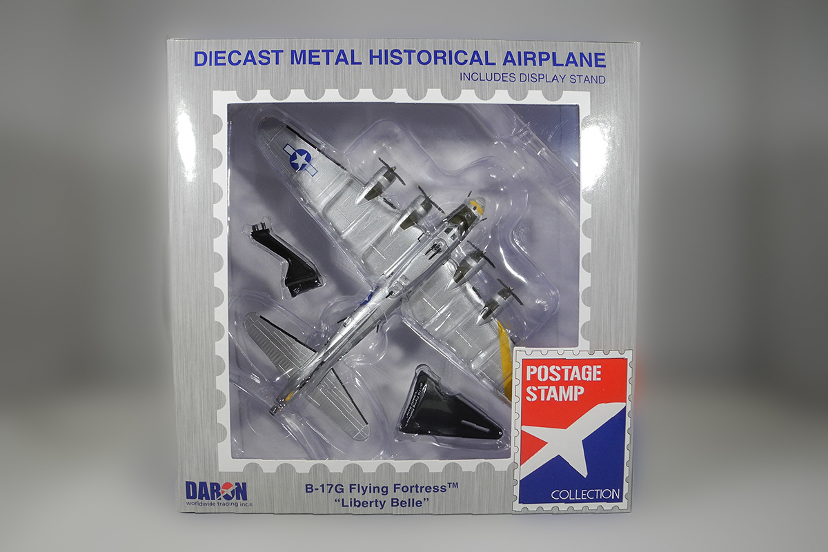 Diecast B-17G Flying Fortress Liberty Belle