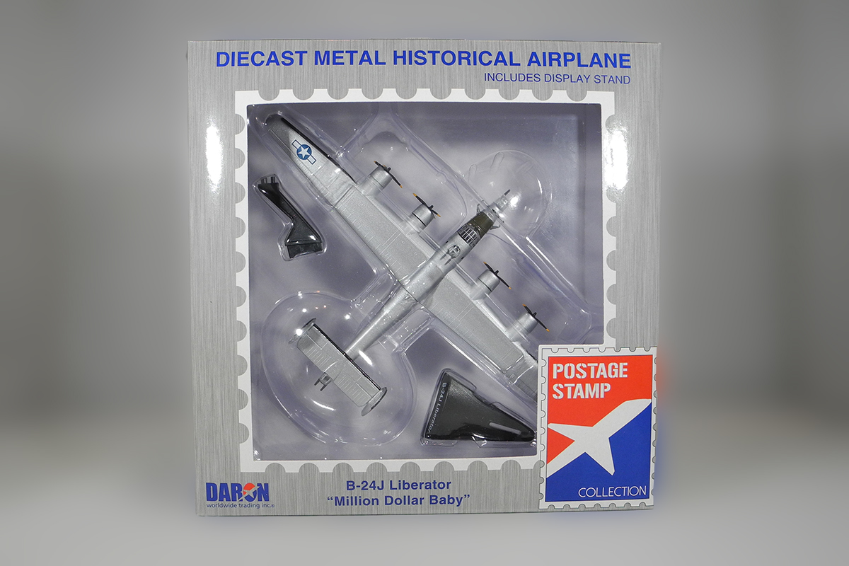 Diecast B-24J Liberator Million Dollar Baby