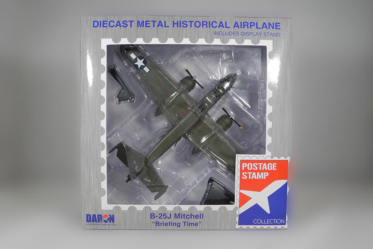 Diecast B-25J Mitchell Briefing Time