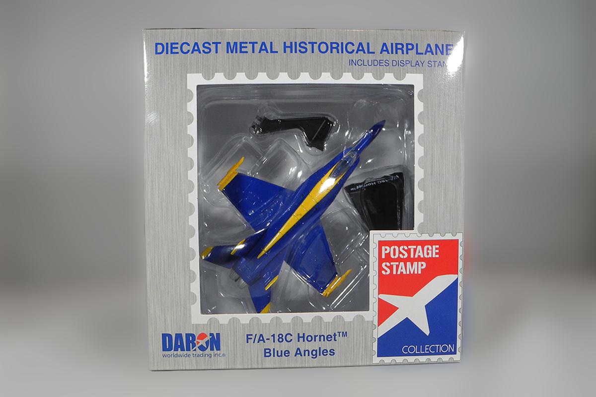 Diecast F:A-18C Hornet Blue Angels