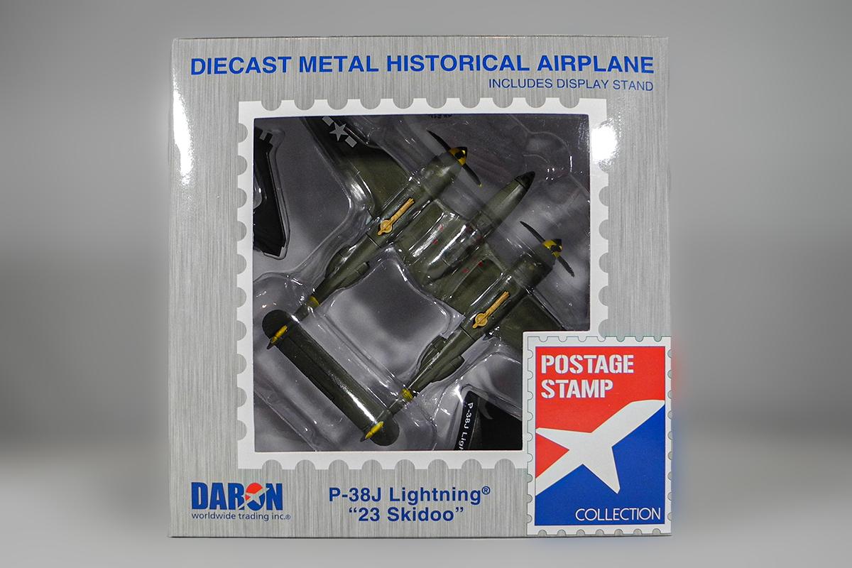 Diecast P-38J Lightning 23 Skidoo