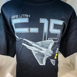 "Hill AFB F-15 ""Eagle"" T-shirt Adult and Youth Sizes"