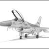 F-16A Fighting falcon Doug Kinsley print