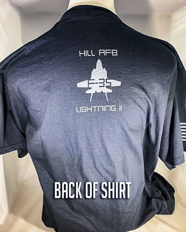 "Hill AFB F-35 ""Lightning II"" T-Shirt Adult and Youth Sizes"