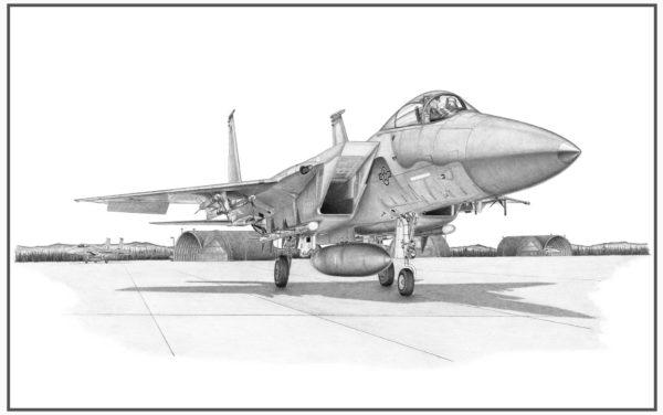 F-15C Eagle Doug Kinsley Print
