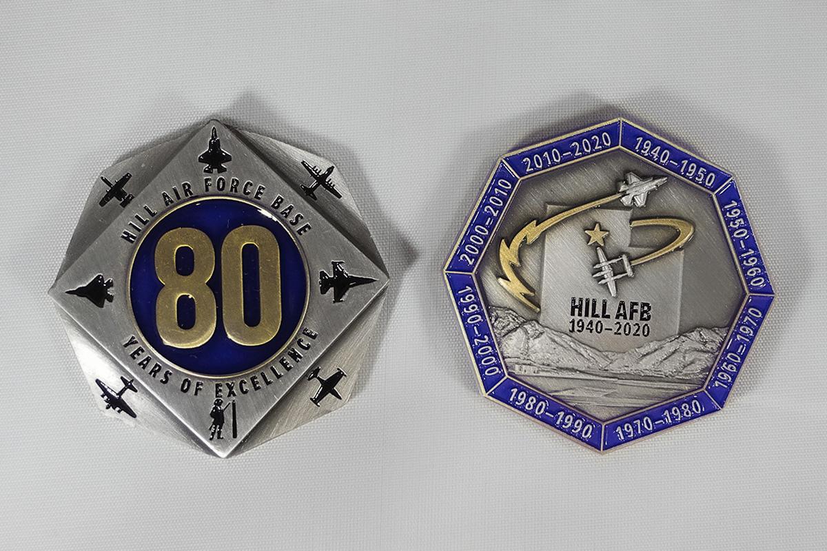 HAFB 80th Anniversary Coin