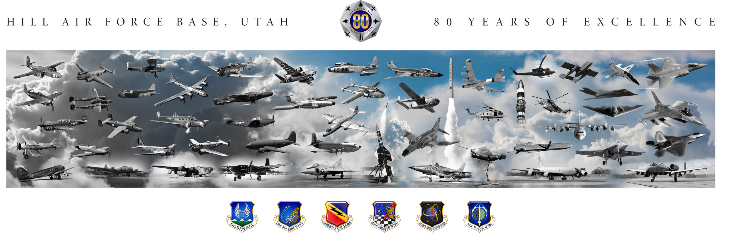 Hill AFB 80th Anniversary litho MOCKUP w border