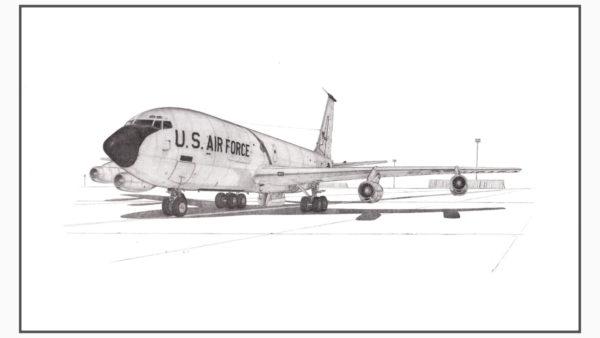 KC-135A Stratotanker Doug Kinsley Print