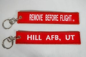 Gift Shop Remove Before Flight Key Chain