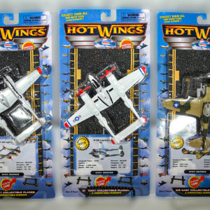 Hotwings P-38, P-40