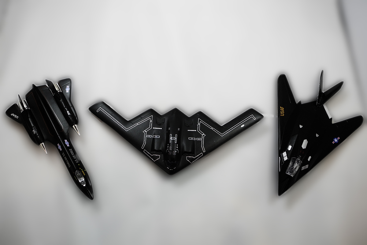 SR-71 _ F-117 _ B-2