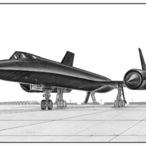 SR-71 Blackbird Doug Kinsley Print