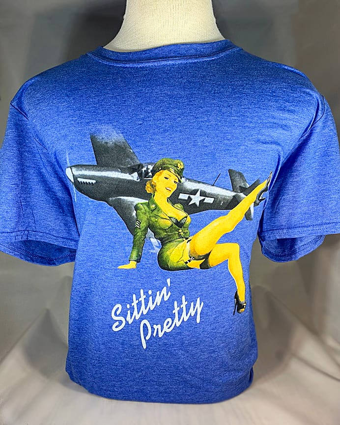 "Pinup ""Sittin' Pretty"" T-Shirt 1"
