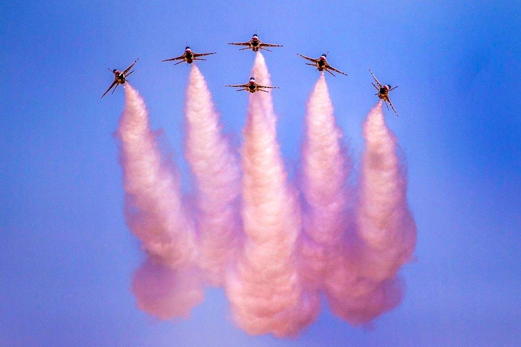 US Air Force Thunderbirds Demo Team