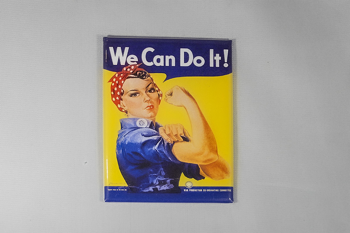 We Can Do It Magnet 2