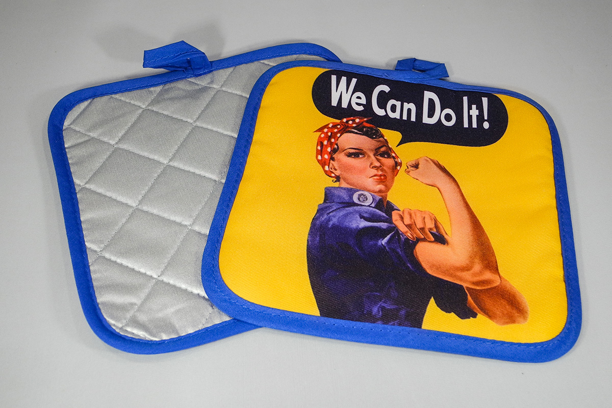 We Can Do It Pot Holder