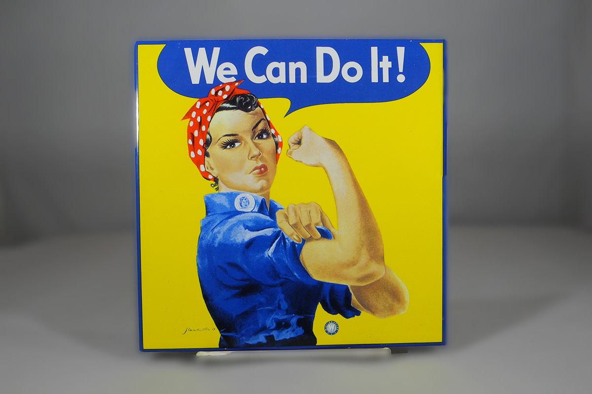 We Can Do It Trivet