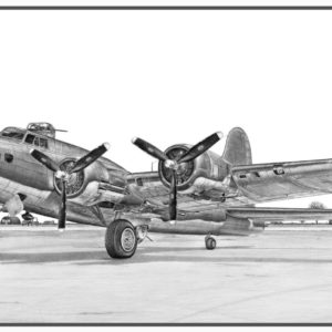 B-17G Fling Fortress Doug Kinsley Print